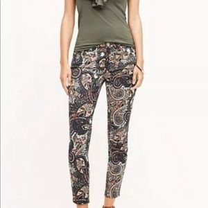 7 for All Mankind The Ankle Super Skinny Jeans